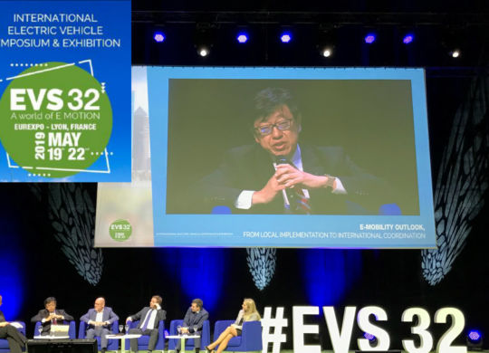 CHAdeMO speaks at EVS32