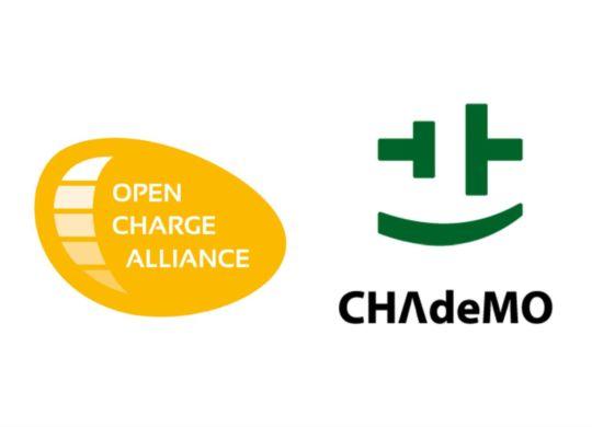 OCA CHAdeMO Joint WG logo